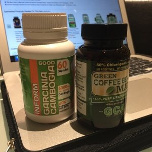 Garcinia Cambodia and Green Coffee Bean Extract Supplements