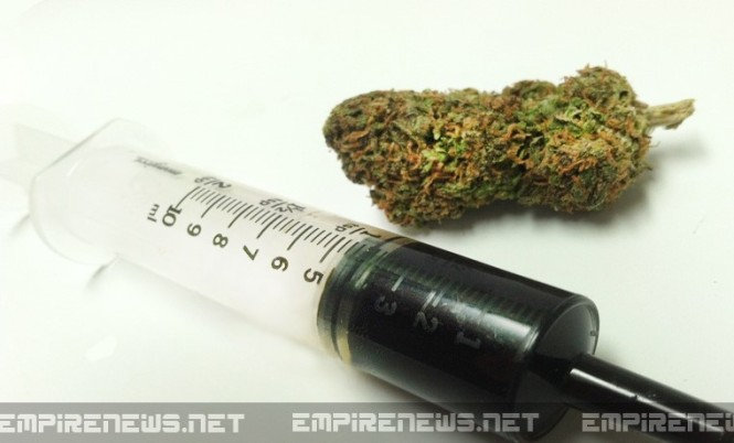 weed in needle